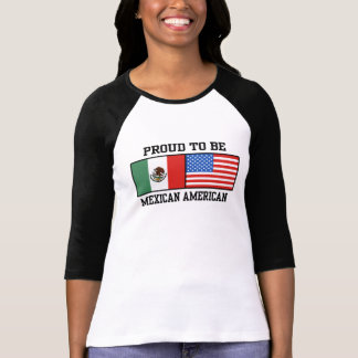 Proud Mexican American Tee Shirt