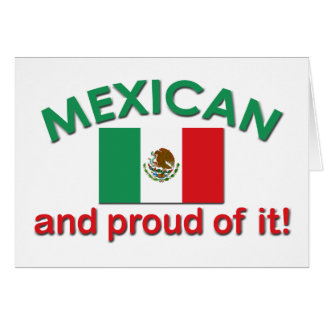 Proud Mexican Card