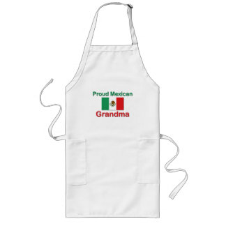 Proud Mexican Grandma Long Apron