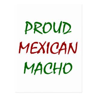 Proud Mexican Macho Postcard