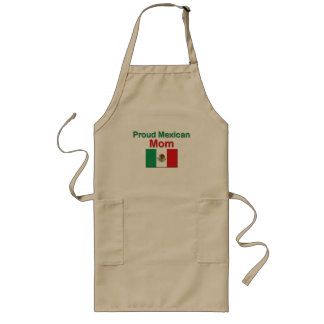 Proud Mexican Mom Long Apron
