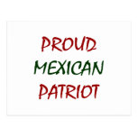 proud mexican patriot post cards