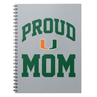 Proud Miami Family - Gray Notebook