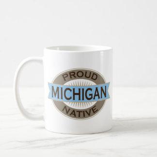 Proud Michigan Native Beverage Mug Gift