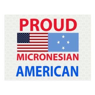 Proud Micronesian American Postcard