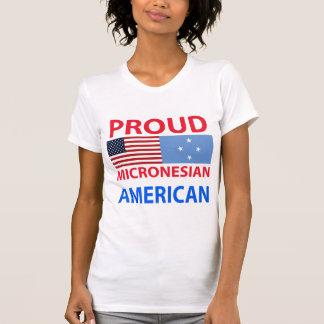 Proud Micronesian American Tshirt