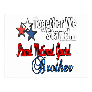 Proud Military Brother Postcard