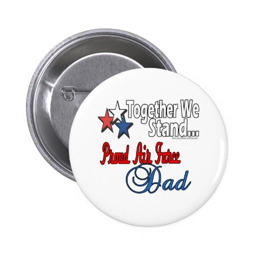 Proud Military Dad 2 Inch Round Button
