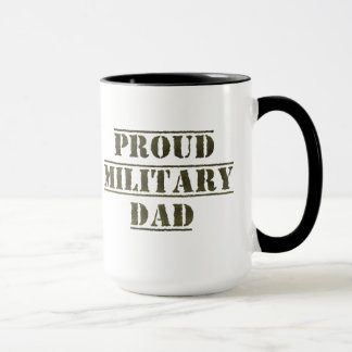 Proud Military Dad Mug