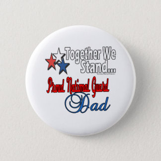 Proud Military Dad Pinback Button