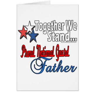 Proud Military Father Card