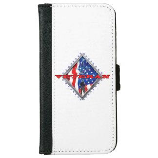Proud military veteran iPhone 6 wallet case