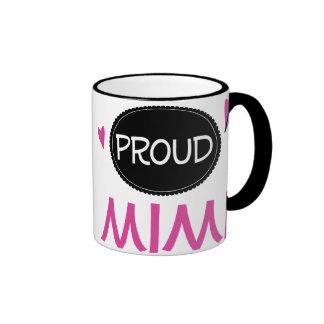 Proud Mimi Ringer Coffee Mug