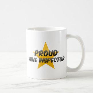 Proud Mine Inspector Classic White Coffee Mug