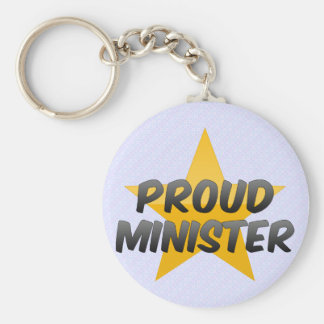 Proud Minister Keychains