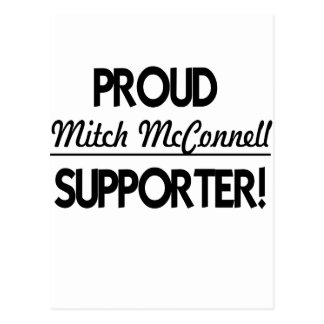 Proud Mitch McConnell Supporter! Postcard