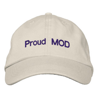 Proud MOD Embroidered Baseball Hat