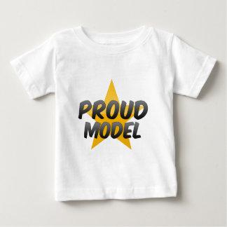 Proud Model Baby T-Shirt