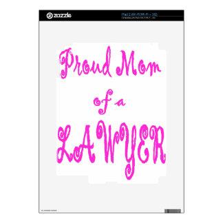 proud mom2 iPad 2 decal