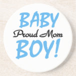 Proud Mom Baby Boy Gifts Coasters
