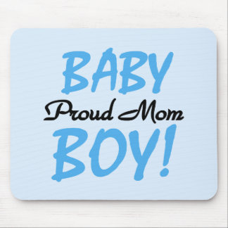 Proud Mom Baby Boy Tshirts and Gifts Mouse Pad