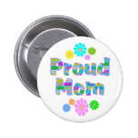 Proud Mom Buttons