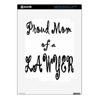 proud mom decal for iPad 3