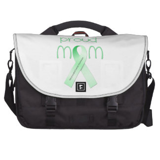 Proud Mom Laptop Messenger Bag