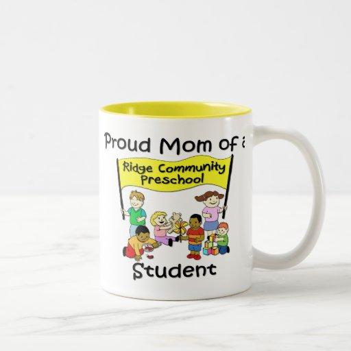Proud Mom Coffee Mugs