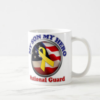 Proud Mom - National Guard Classic White Coffee Mug