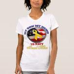 Proud Mom - Navy Tee Shirt