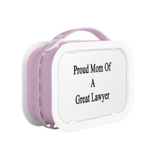 Proud Mom Of A Great Lawyer Yubo Lunchbox