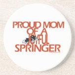 Proud Mom Of A Joyful Springer Coasters