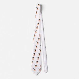 Proud Mom Of A Lacrosse Player Neck Tie
