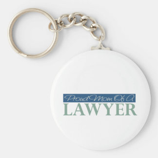 Proud Mom Of A Lawyer Basic Round Button Keychain