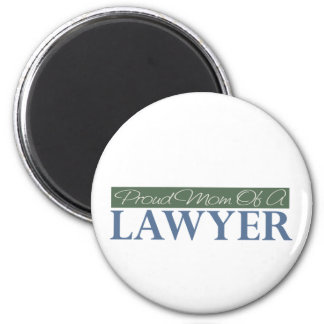 Proud Mom Of A Lawyer 2 Inch Round Magnet