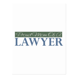Proud Mom Of A Lawyer Postcard