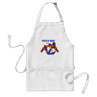 Proud Mom of a Navy Nuke Adult Apron