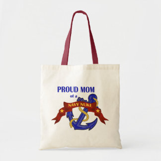 Proud Mom of a Navy Nuke Tote Bag