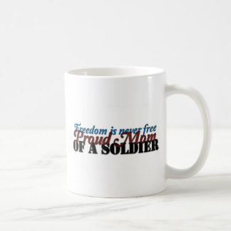 Proud Mom of a soldier Mugs