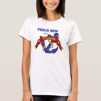 Proud Mom of a US Sailor T-Shirt