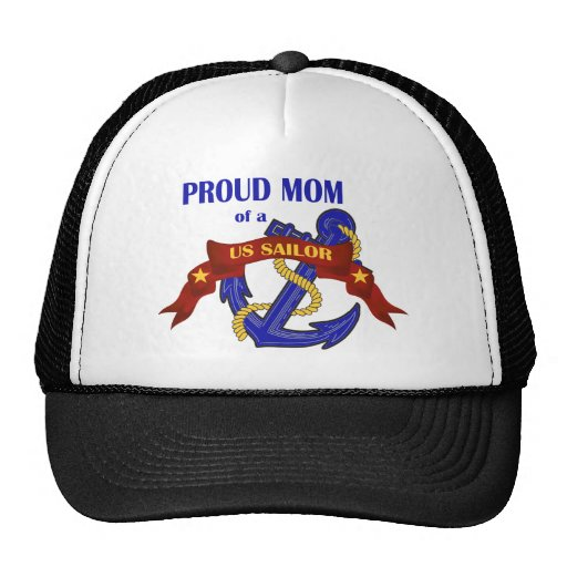 Proud Mom of a US Sailor Trucker Hat