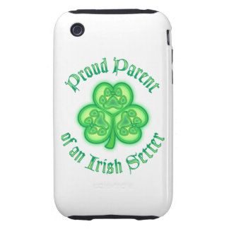 Proud Mom of an Irish Setter Tough iPhone 3 Covers
