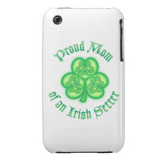 Proud Mom of an Irish Setter iPhone 3 Cover