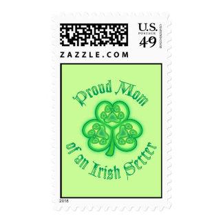Proud Mom of an Irish Setter Postage
