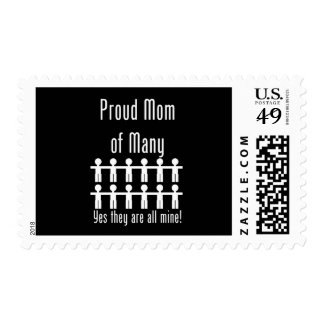 Proud Mom of Many -  12 kids Postage