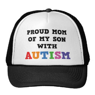 Proud Mom Of My Son With Autism Trucker Hat
