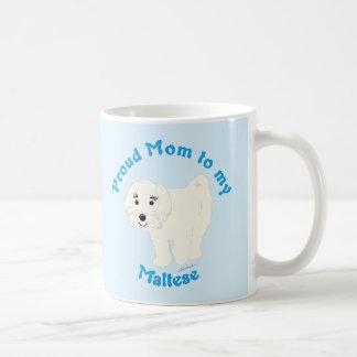 Proud Mom to my Maltese Coffee Mug