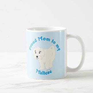 Proud Mom to my Maltese Mugs