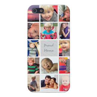 Proud Mom Your Instagram Photos Collage Cover For iPhone SE/5/5s